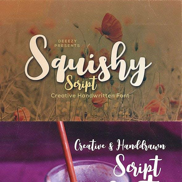 Squishy Script Font