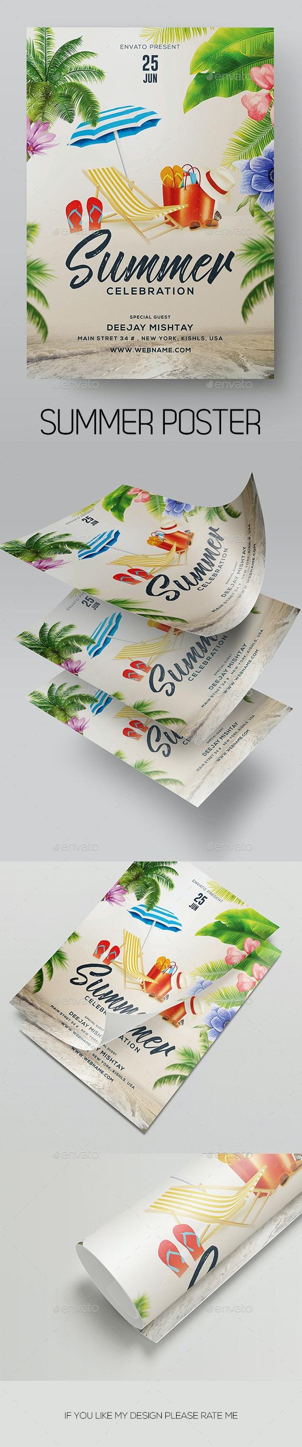 Summer - Flyers Print Templates