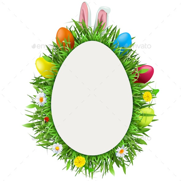 Vector Easter Greeting Card - Miscellaneous Seasons/Holidays