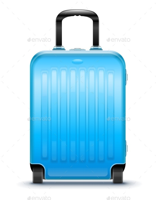 Suitcase for Travel. Vector Illustration. - Travel Conceptual