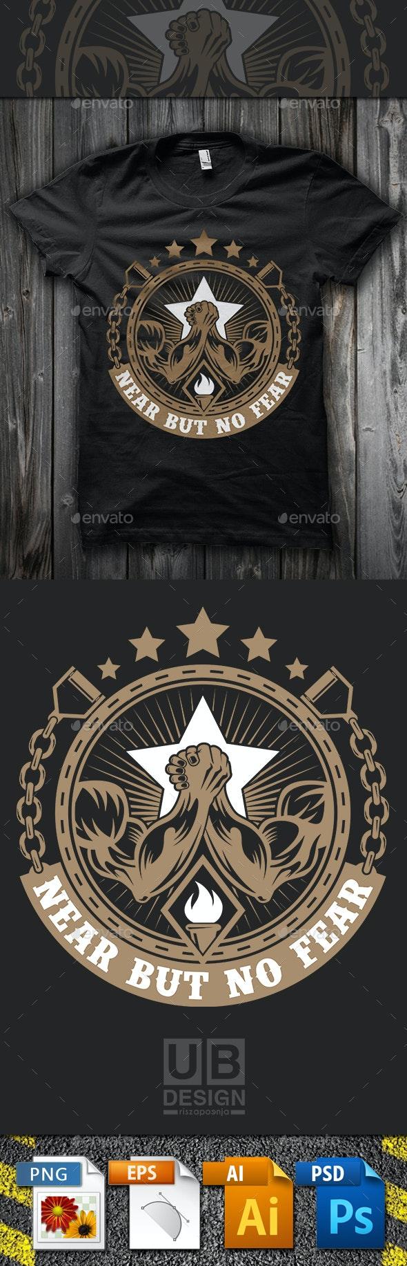 Arm Wrestling T Shirt Template - Sports & Teams T-Shirts