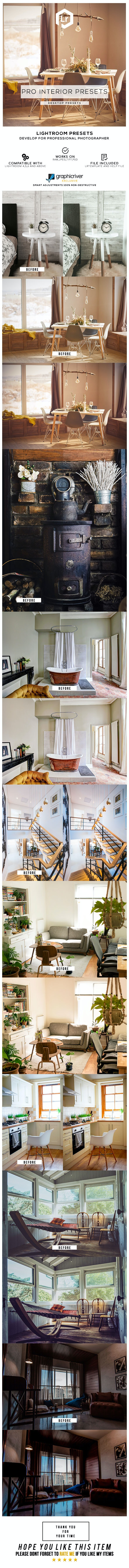 28 Pro Interior Presets - Lightroom Presets Add-ons