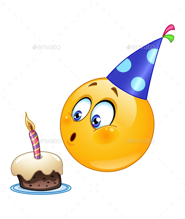 Birthday Emoticon - Birthdays Seasons/Holidays