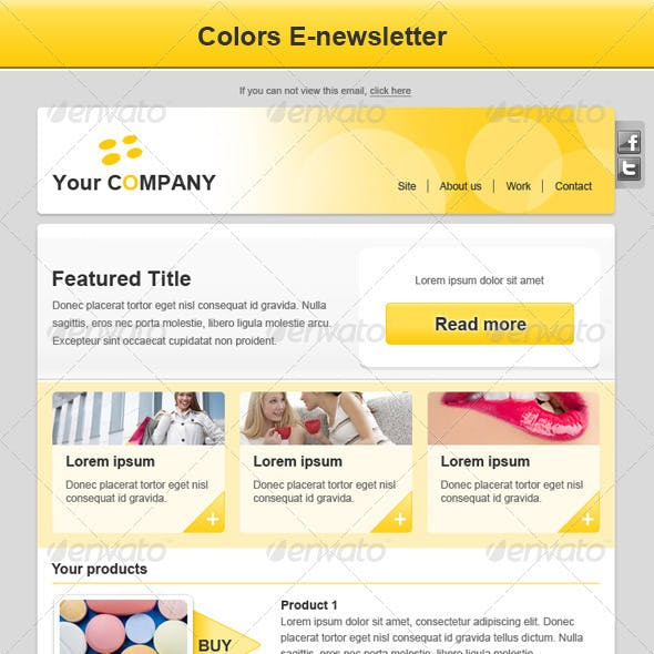 Colors E-newsletter