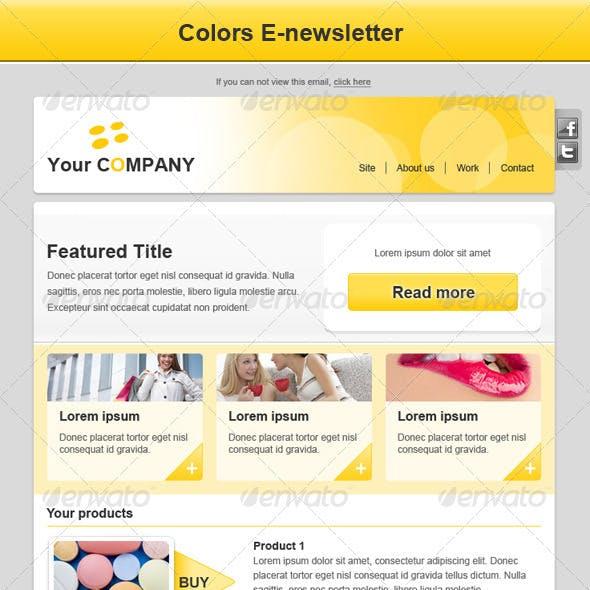 Colors E-newsletter