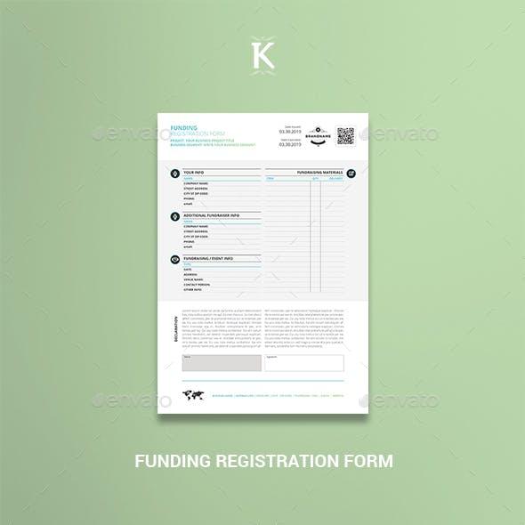 Funding Registration Form