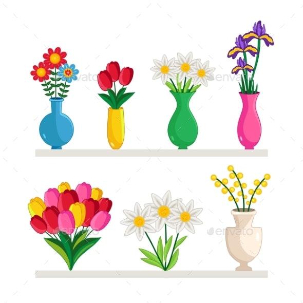 Vases of Flowers - Flowers & Plants Nature