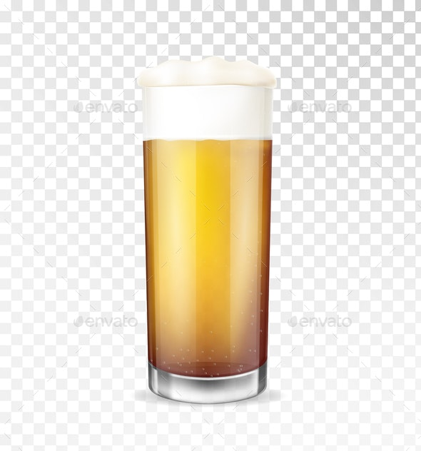 Beer Glass - Backgrounds Decorative