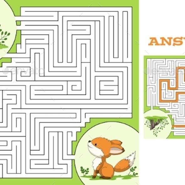 Maze Game Puzzle