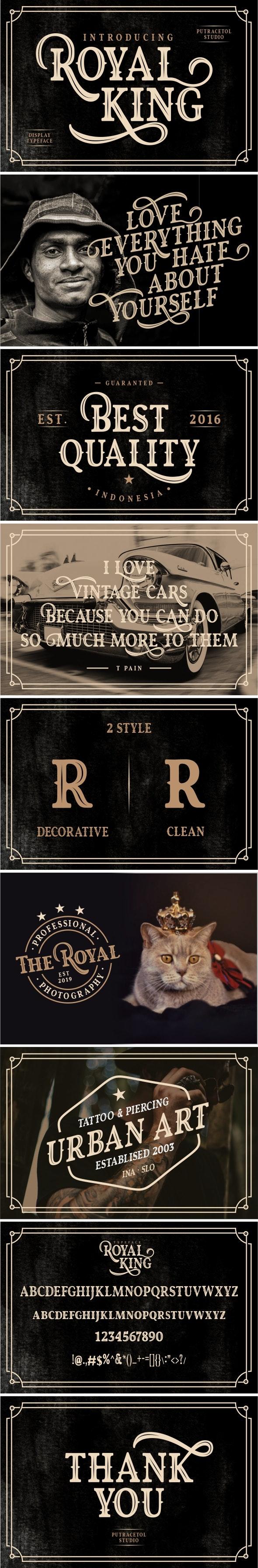 Royal King - Miscellaneous Serif