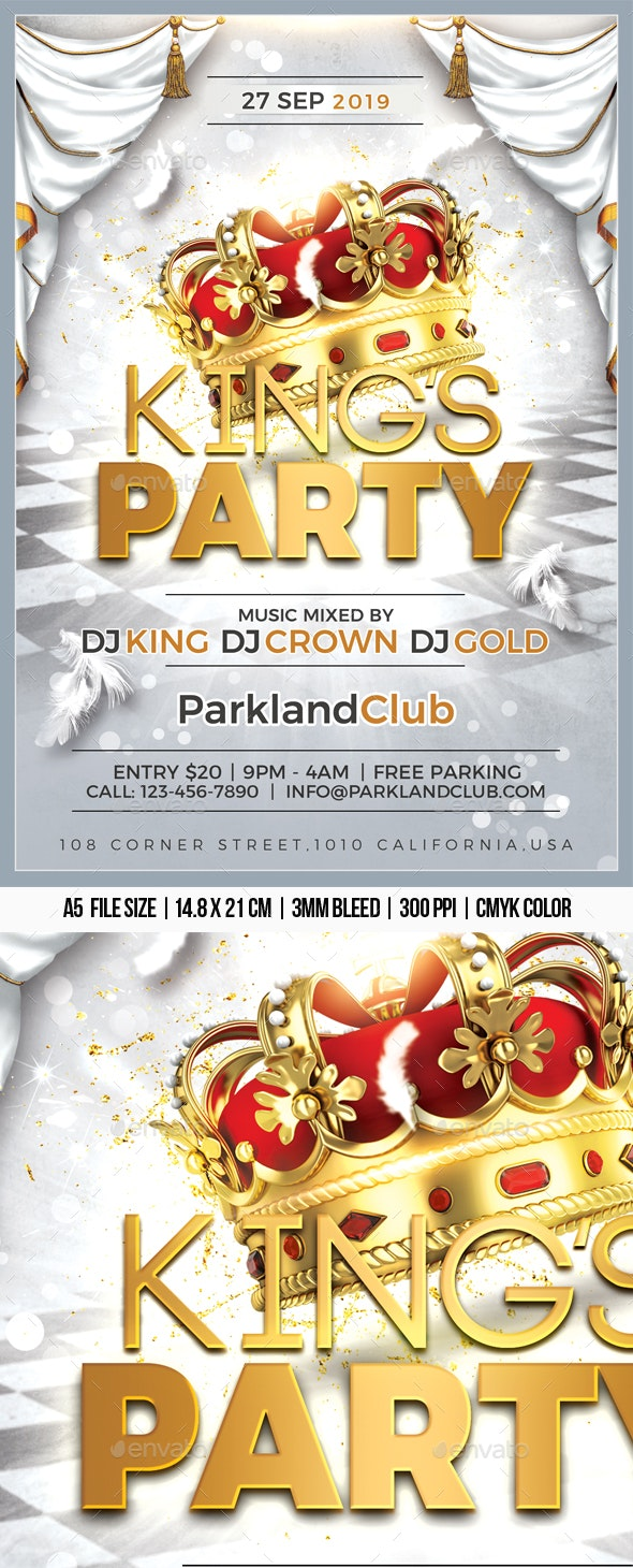 Kings Party - Clubs & Parties Events