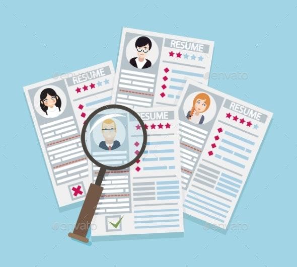 Hire Recruitment Worker Personnel Vacancy - Concepts Business