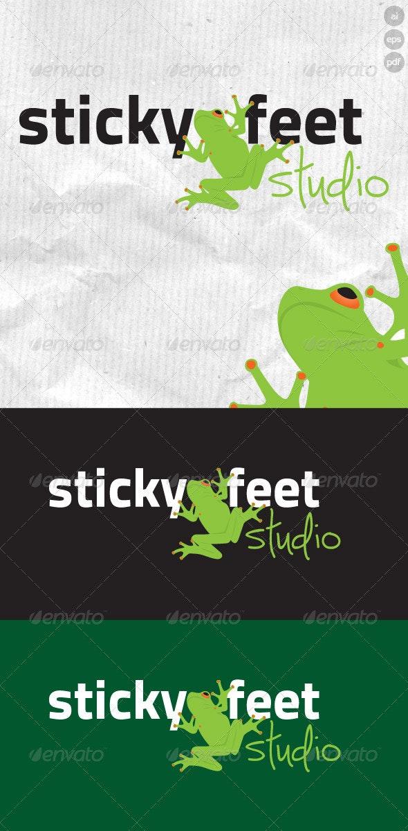 Sticky Feet Studio Logo - Animals Logo Templates