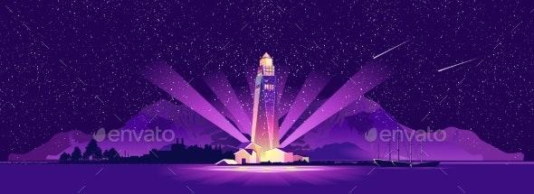 Lighthouse Hope Sailor - Landscapes Nature