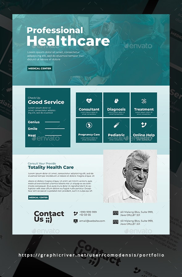 Healthcare Flyer Templates - Corporate Flyers