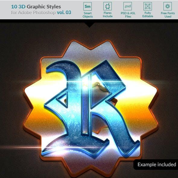 10 3D Styles vol. 03