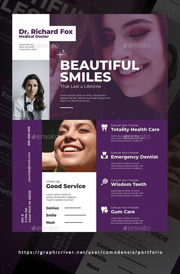 Dental Flyer Template - Corporate Flyers