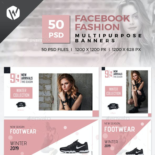 50 Facebook Fashion Banners