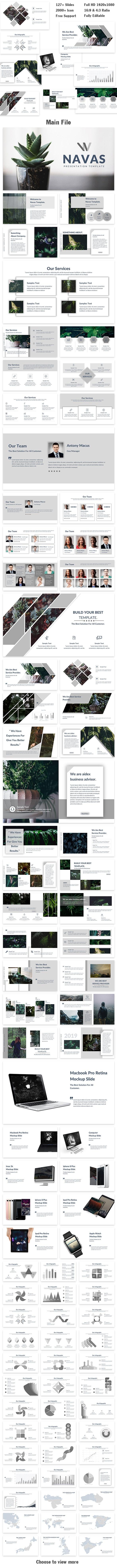 Navas Creative Google Slide Template - Google Slides Presentation Templates
