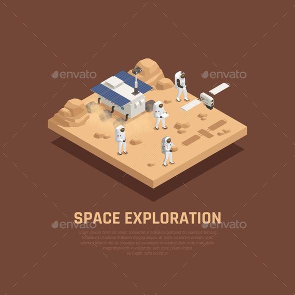Space Exploration Concept - Industries Business