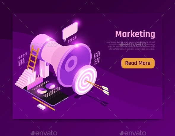 Business Strategy Page Design - Media Technology