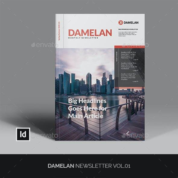 Damelan Newsletter Vol.01