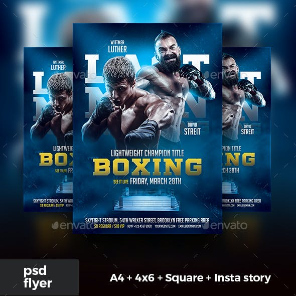 Boxing Flyer