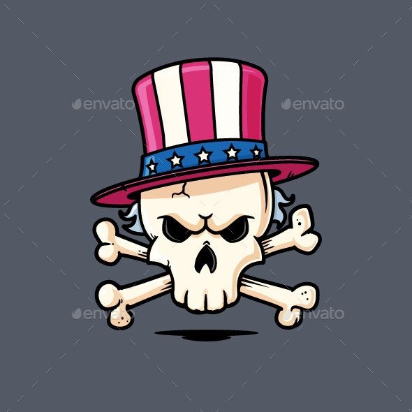 Uncle Sam Skull - Miscellaneous Characters