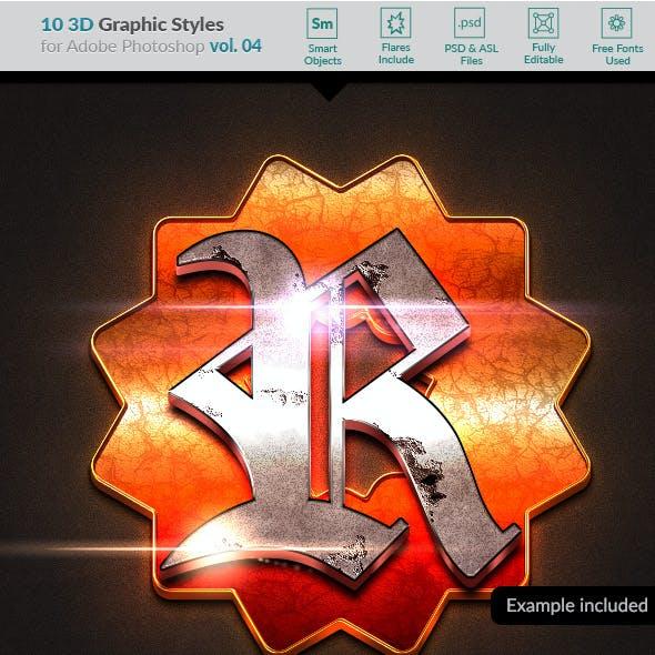 10 3D Styles vol. 04