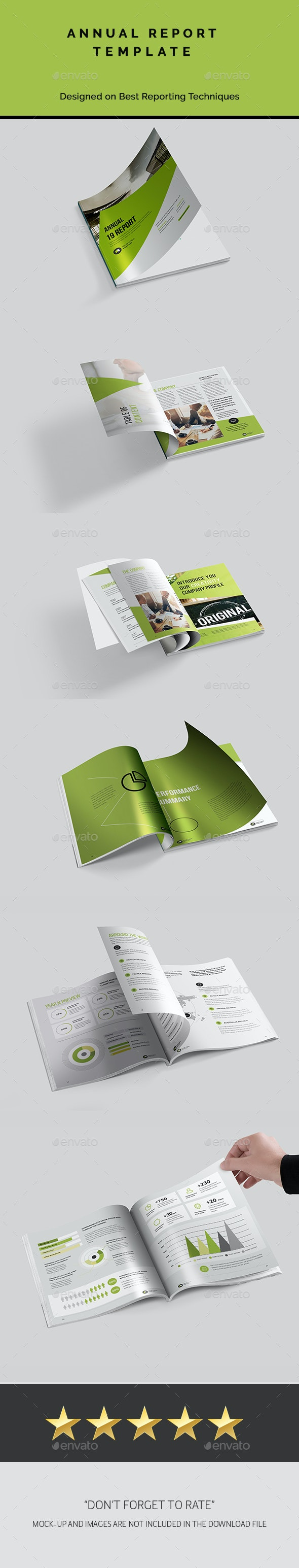Annual Report Template - Corporate Flyers