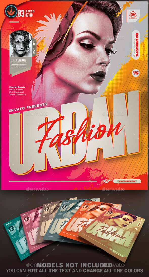 Fashion Flyer Template - Events Flyers