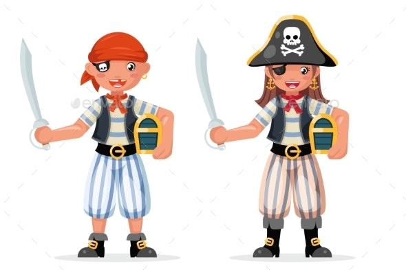 Kids Boy Girl Pirate Adventure Party Sailor - Halloween Seasons/Holidays