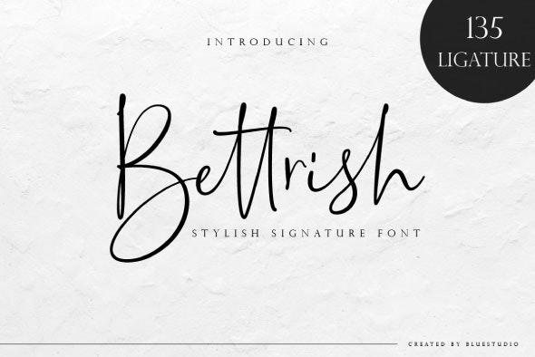 Bettrish - Hand-writing Script