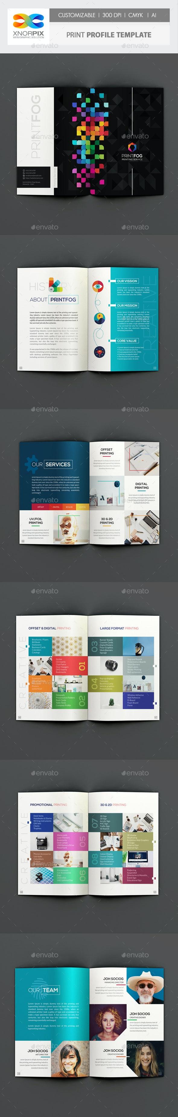 Print Profile - Corporate Brochures