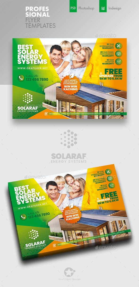 Solar Energy Flyer Templates - Corporate Flyers