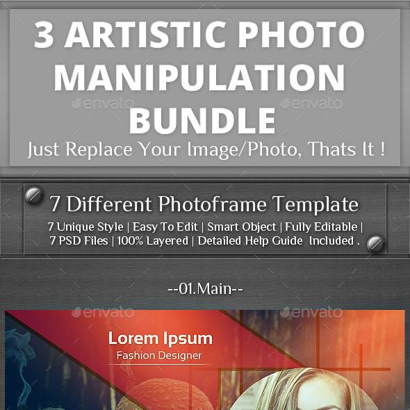 3 Photo Template Bundle V2