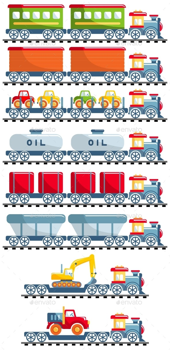Railroad Concept - Man-made Objects Objects