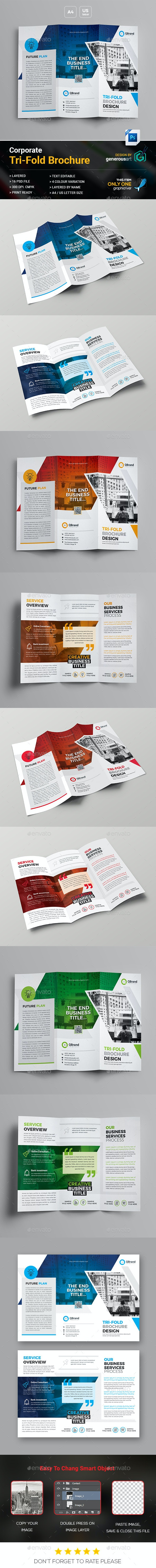Company Tri-Fold Brochure - Corporate Brochures