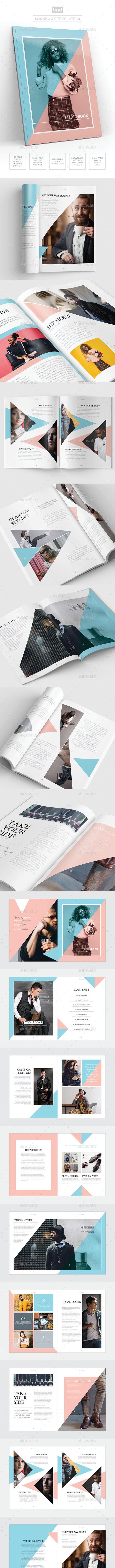 Magazine/Lookbook Template InDesign & Photoshop 10 - Magazines Print Templates