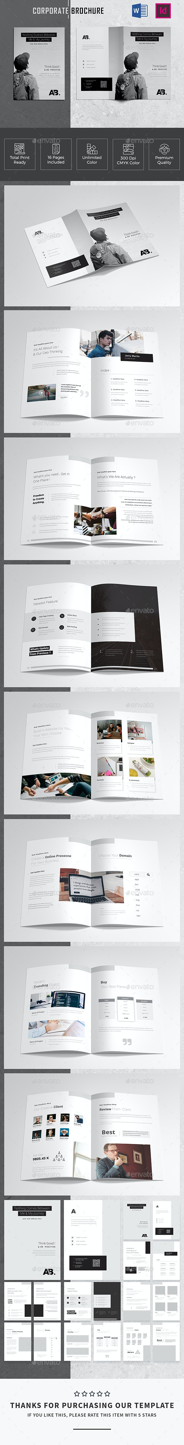 16 Pages Corporate Brochure - Corporate Brochures