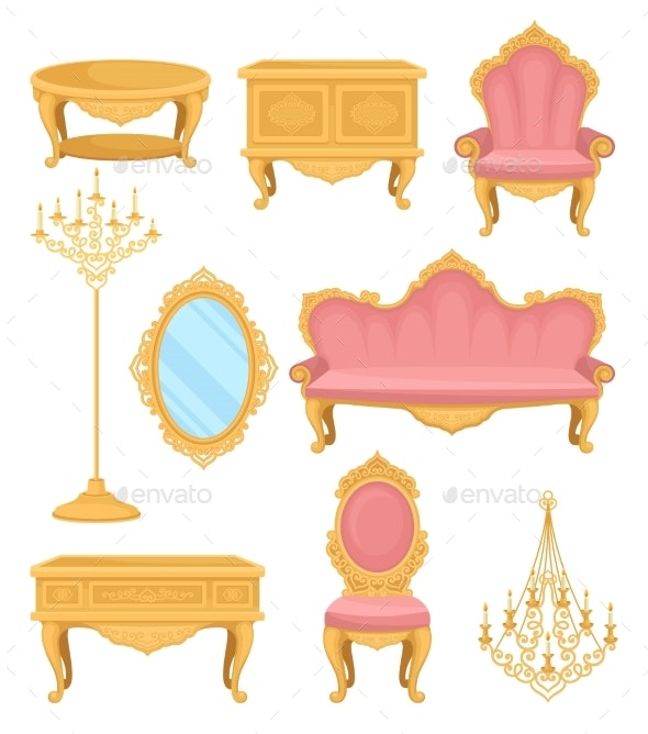 Princess Furniture - Man-made Objects Objects