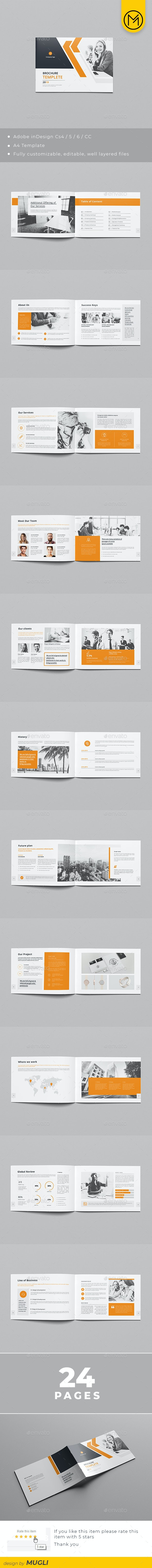 Horizontal Corporate Brochure - Corporate Brochures