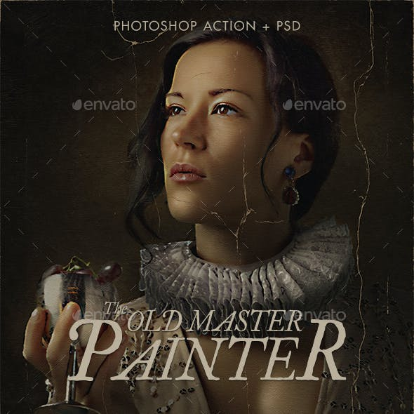 The Old Master Painter Action