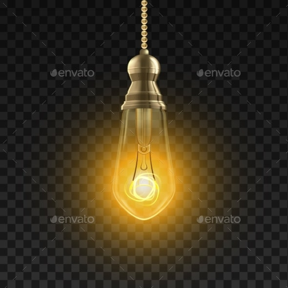 Edison Electric Light Bulb - Man-made Objects Objects