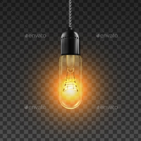 Light Bulb Icon - Man-made Objects Objects