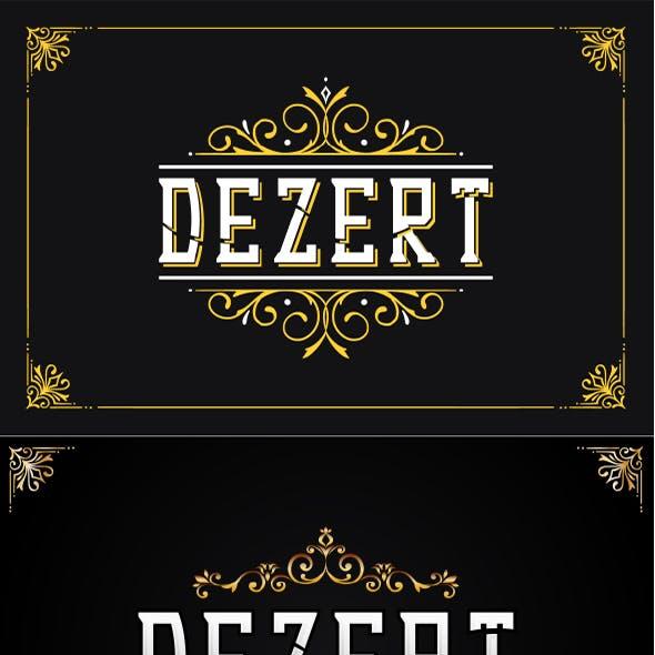 Dezert - Serif Blackletter Font