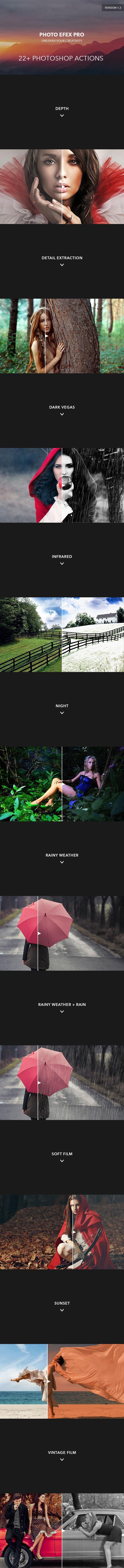 Photo Efex Pro Photoshop Actions - Actions Photoshop