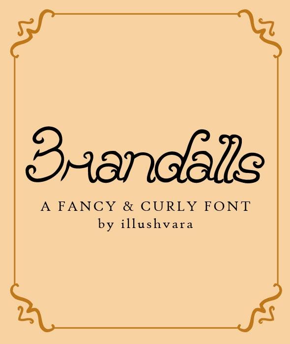 Brandalls - Script Fonts