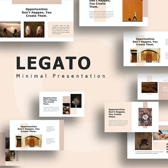 Legato - Creative Presentation PowerPoint Template