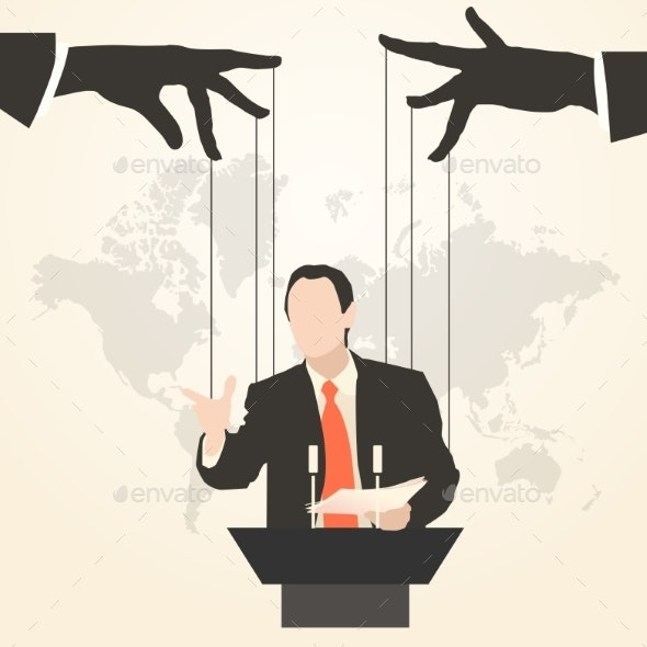 Man Speaker Silhouette Preaching Presentation - Concepts Business